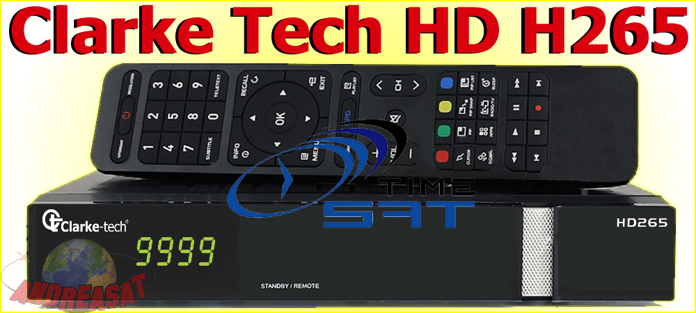 Clarke Tech HD H265 Android